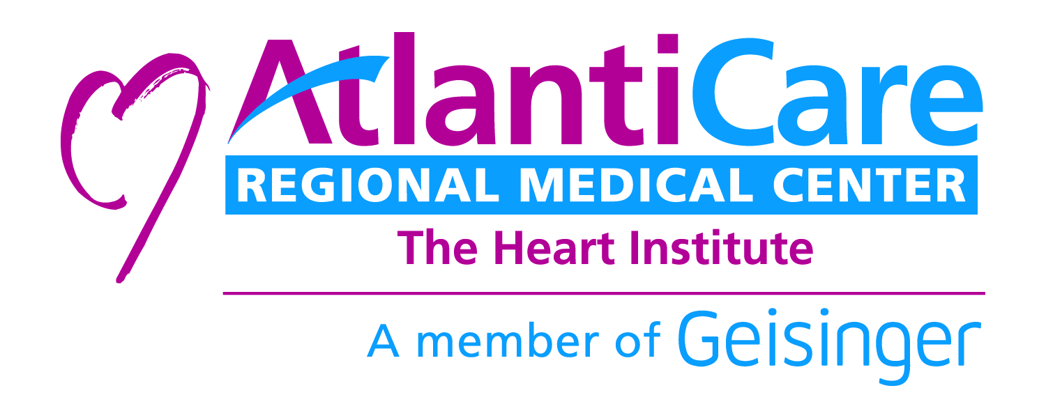 AtlantiCare Regional Medical Center The Heart Institute A Member of Geisinger Health System Logo